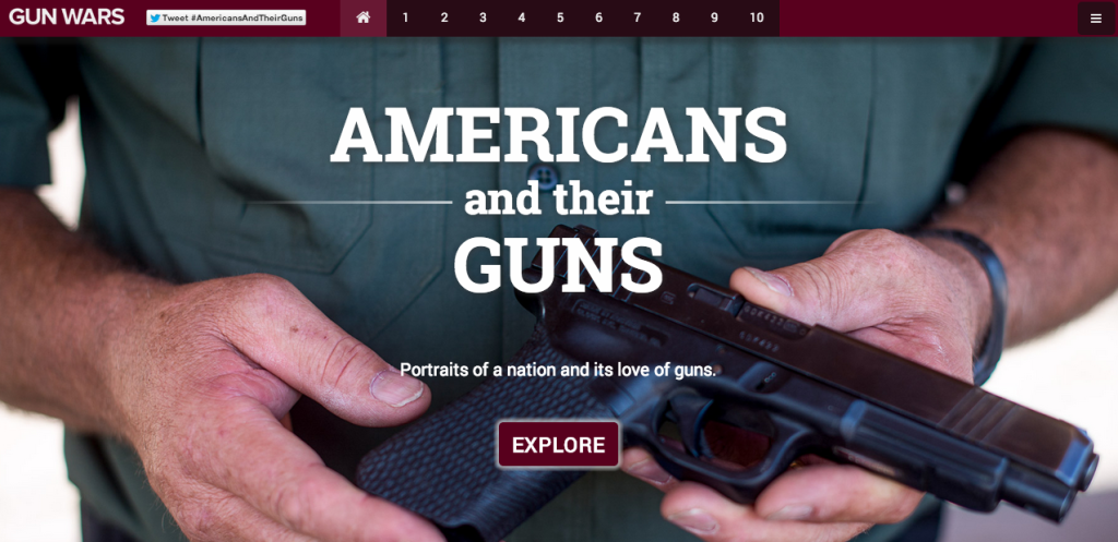 Americans and their Guns website