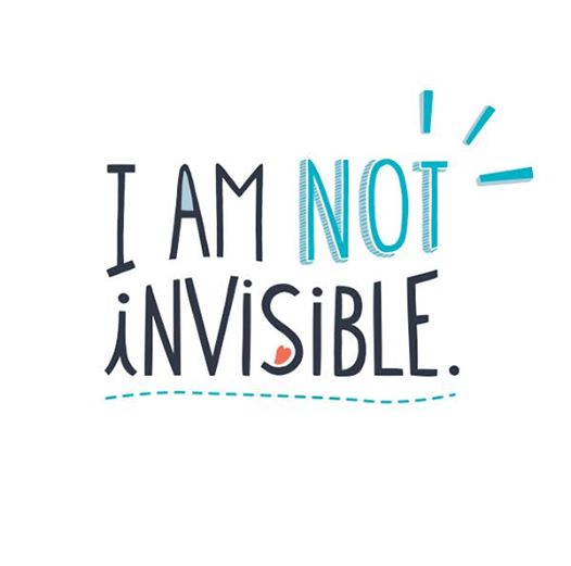I am not invisible photo